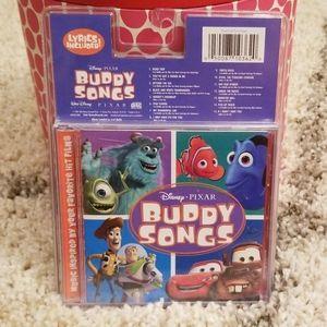 New Disney Pixar Buddy Songs CD
